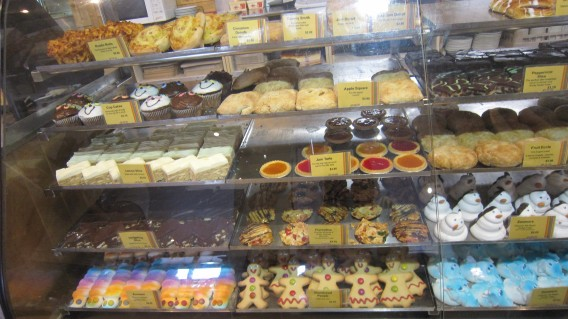 Look at all the different types of CAKES :)