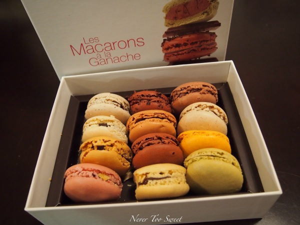 Last post of 2011 la maison du chocolat never too sweet for Macarons la maison du chocolat