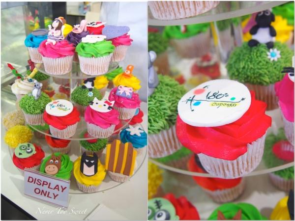4 Crowns per cupcake