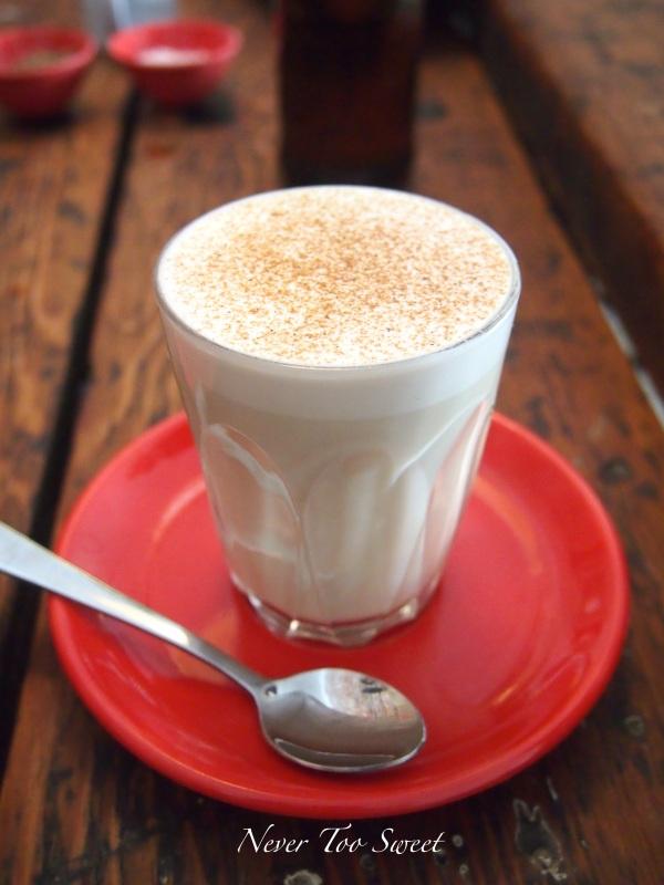 Soy Chai Latte $3.8AUD