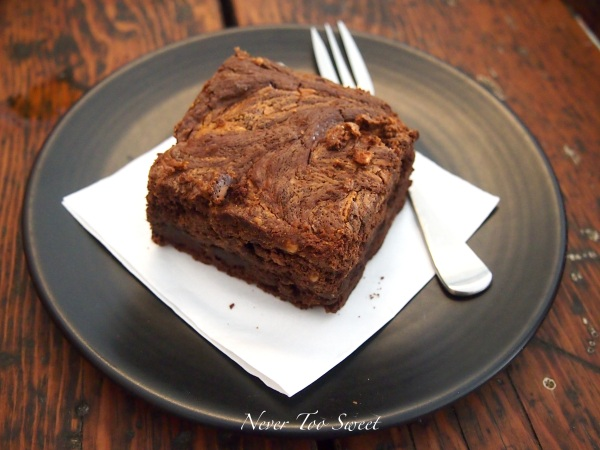 Peanut Butter Chocolate Brownie $4AUD