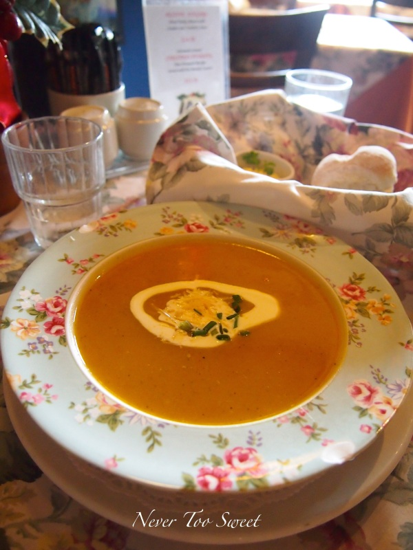 Soup of the Day - Pumpkin Soup $10.50 AUD