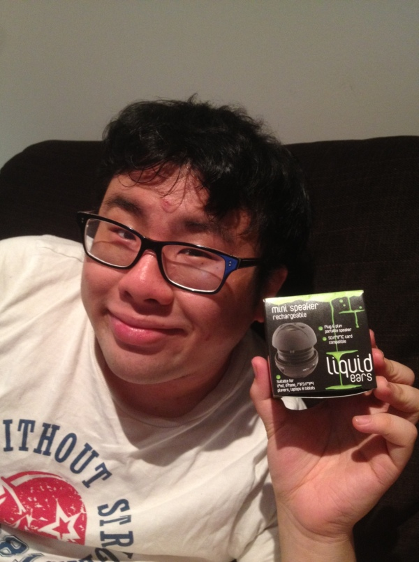 Mr Bao got mini speakers ~