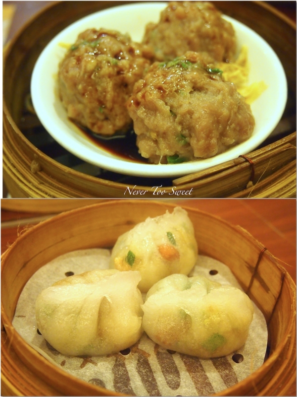 Steamed Beef Balls $14HKD ($1.75AUD) and Chiu Chow dumplings $10HKD ($1.25AUD)