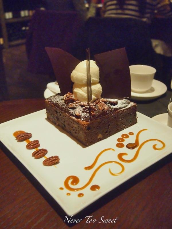 Chocolate Brownie $280HKD ($35AUD) + 10% service charge