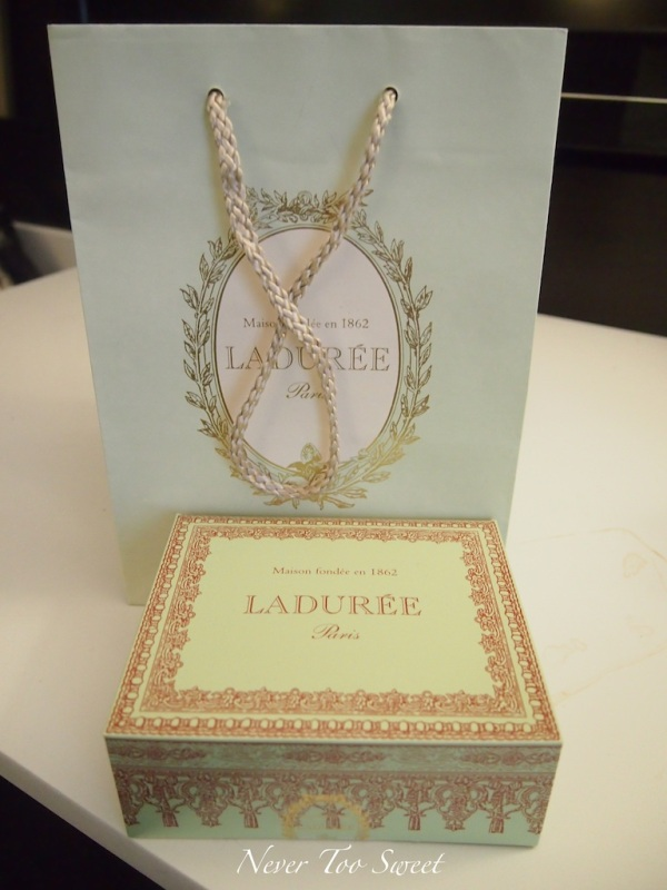 Laduree macarons from NYC