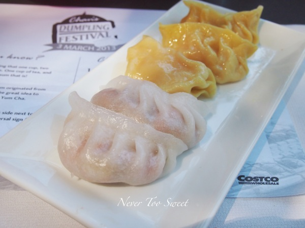 Ginger Prawn and Shiitake Dumpling