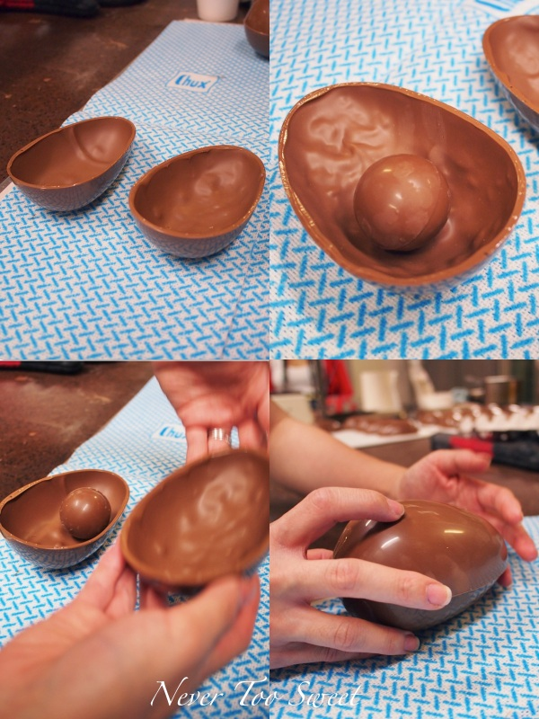 Assembling the Easter Eggs