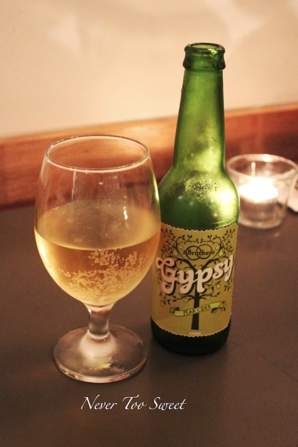 Gypsy Pear Cider $8