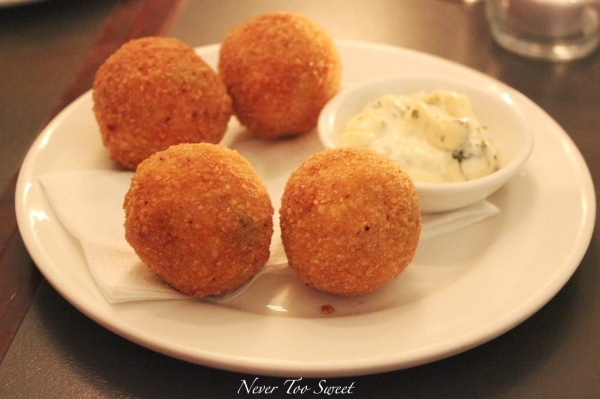 Arancini with herb mayo $12.5