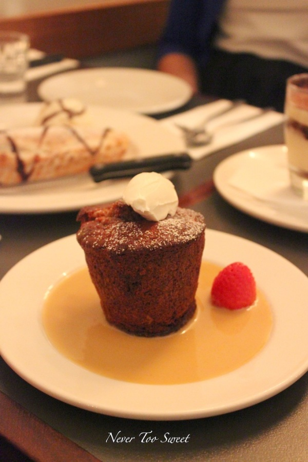 Sticky Date Pudding with mascarpone cream $11.5