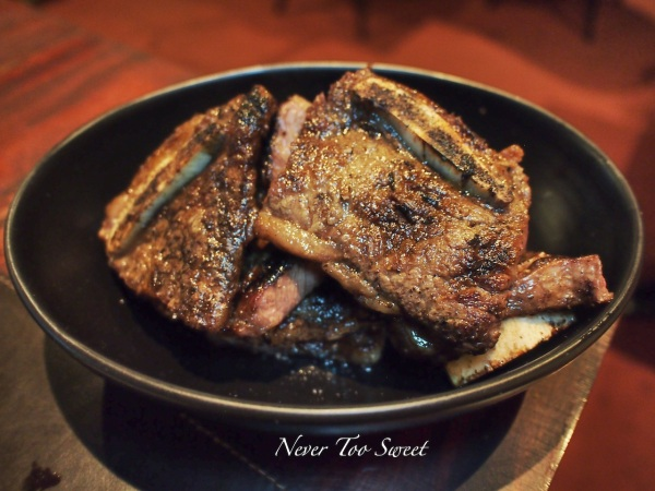 Tira De Asado - Pasture fed beef short ribs  $28