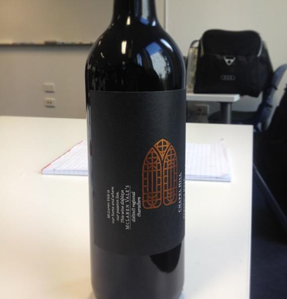 I won a bottle of wine :)