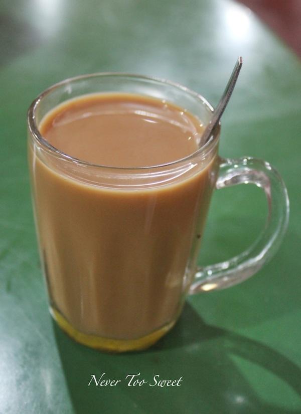 Tea tarik $2SGD ($1.65AUD)
