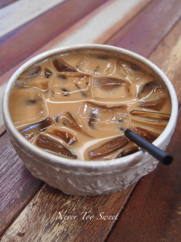 Thai iced coffee $4.50