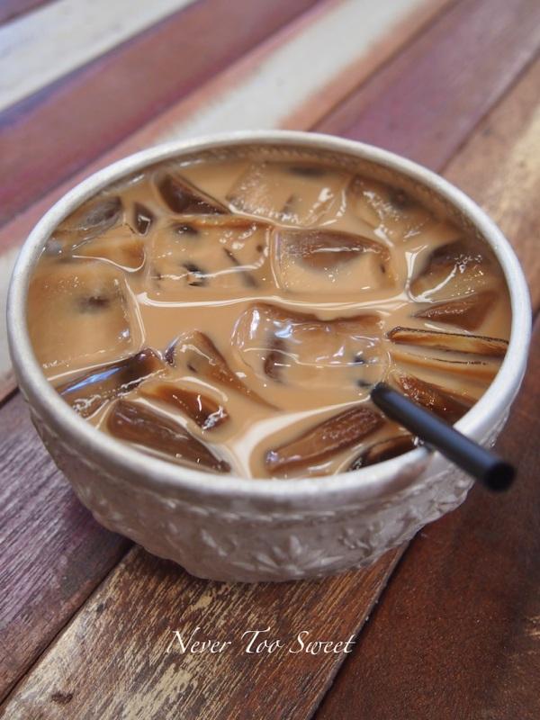 Thai iced coffee $4.50
