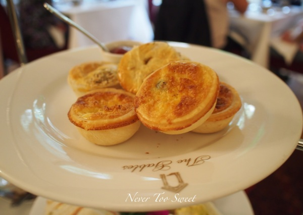 Mini pies and quiches