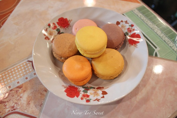 Macarons - Asian flavours