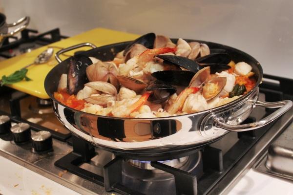 Saffron Seafood Paella