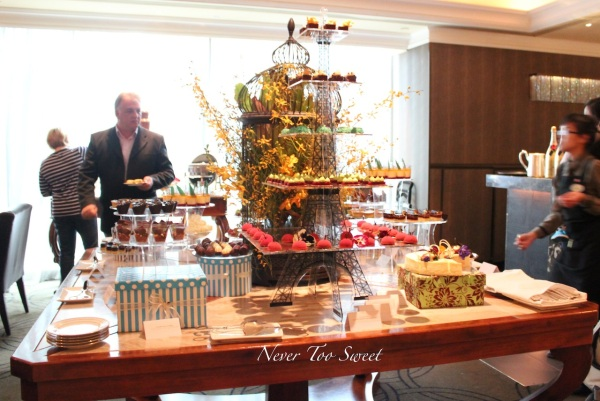 Chocolate bar buffet