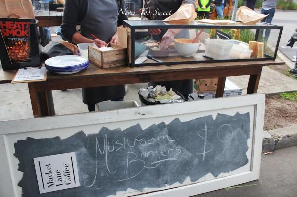Mushroom Burgers @ Market Lane Prahran