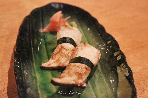 King Oyster Mushroom Nigiri