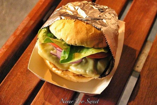Shroom Burger $10