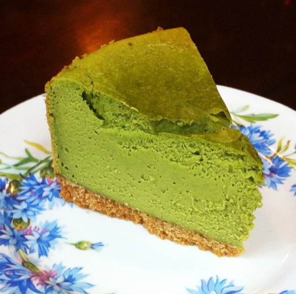 Green Tea Cheesecake at Sin Mei