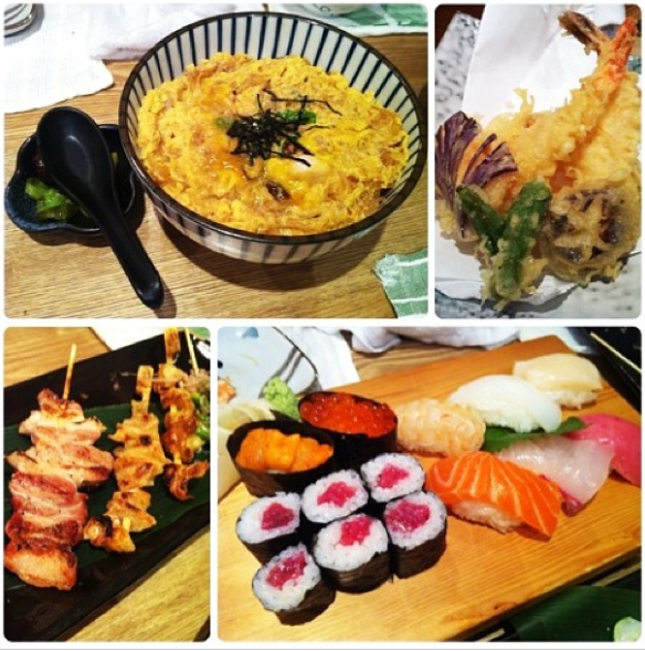 Japanese for dinner
