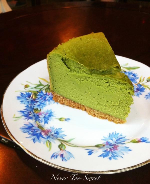 Matcha Cheesecake $40 ($5.5AUD)