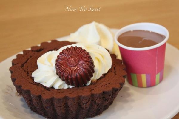 Gluten free chocolate cake $8.95