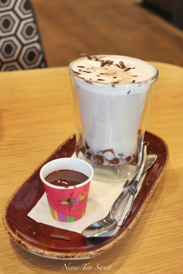 Chilli bomb hot chocolate $7.5