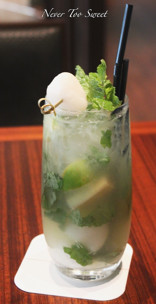 Lychee Mojito $95 plus 10% service charge