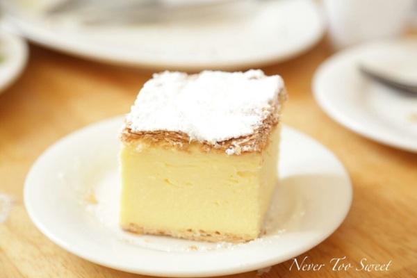 Vanilla slice $3.5AUD