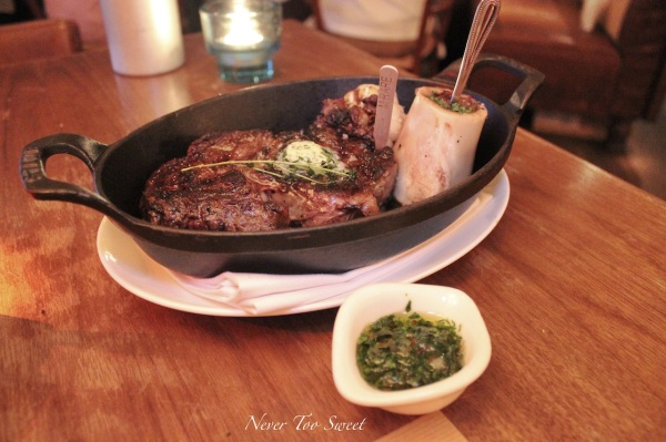 American USDA Rib eye with bone marrow $398HD ($54AUD) +10% Service Charge