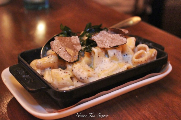 Black Truffle mac & cheese $78HKD ($11AUD)