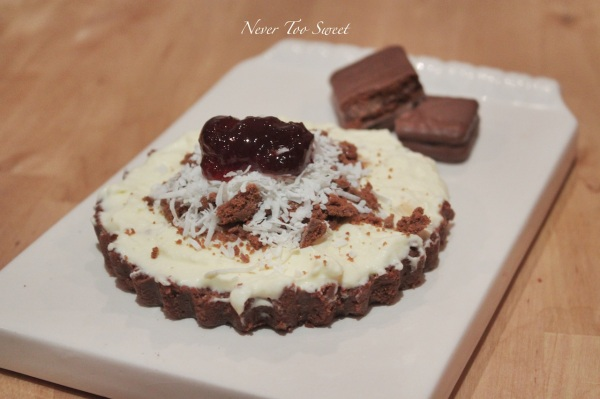 Tim Tam Lamington Tart