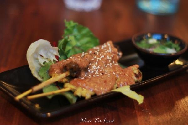 Satay Platter $7