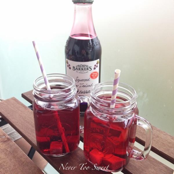 Baker's of Geraldine Blackcurrent Juice Syrup