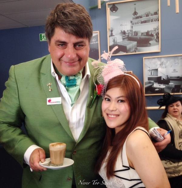 I met Matt Preston