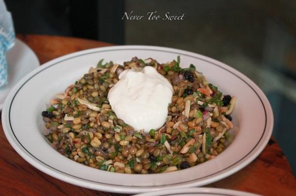Grain salad $8