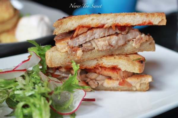 Crispy Pork Belly Sandwich $15