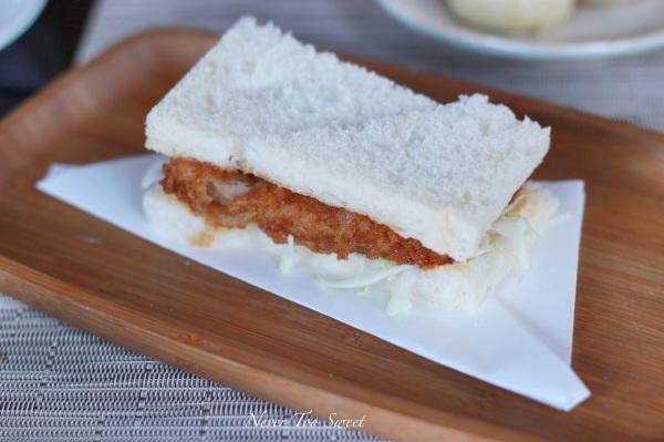 Pork Tonkatsu Sandwich