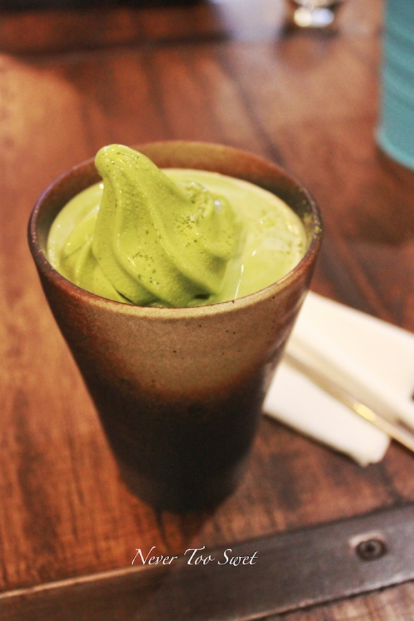 Matcha latte with softie $8.8
