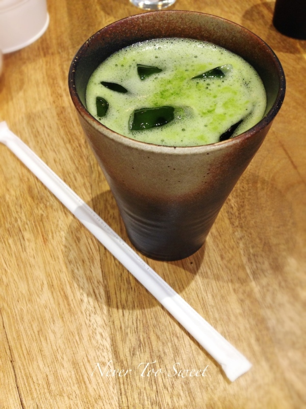 Iced Matcha Tea