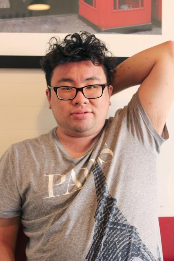 Awkward looking Mr Bao