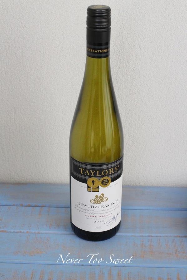 Gewürztraminer 2012, Taylor's Wine