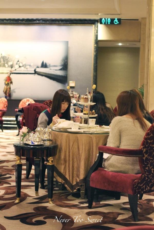 Palm Court, Langham Hotel HK