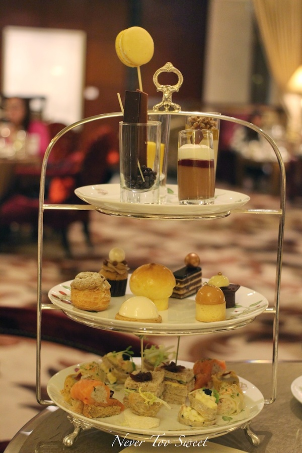 Tiffan Afternoon Tea $428HKD ($62AUD) for two +10% Service Charge