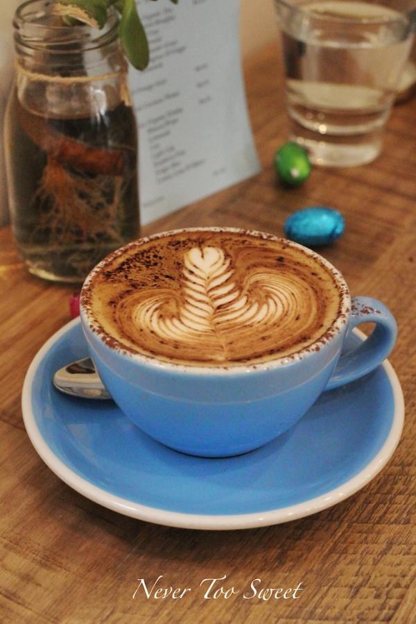 Cappuccino $4
